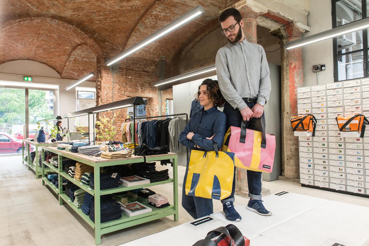 Freitag  Negozi a Milano dove fare shopping a Milano  Vivimilano