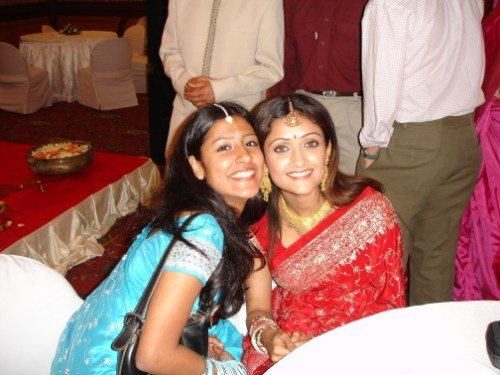 Keerthi and Simi Chechi