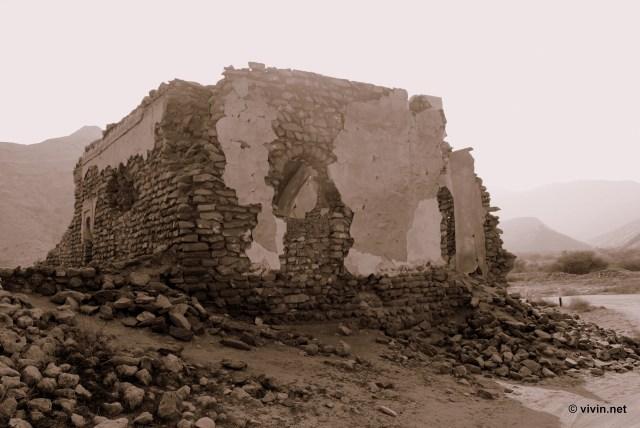 Ruins of Mosque at Qantab Beach (Bandar Al Jissah)