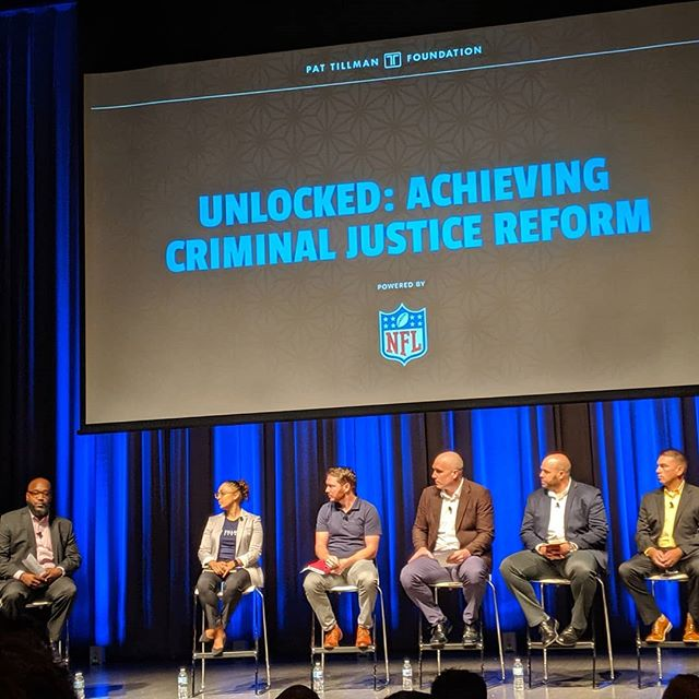 This was an awesome and really informative panel. Learned a lot about the efforts to fix our criminal justice system. Such as efforts to include behavioral economics and restorative justice.  #PTLS2019