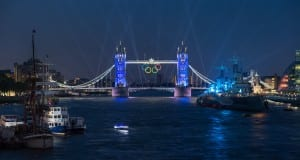 Tower Bridge London Olympics 2012