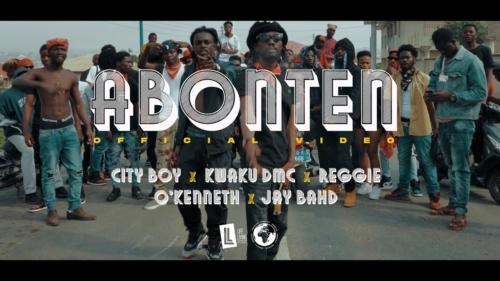 City Boy – Abonten ft Kwaku DMC, Reggie, O'kenneth & Jay Bahd (Official Video)