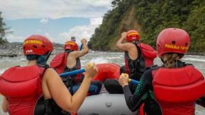 rafting en Baños Ecuador