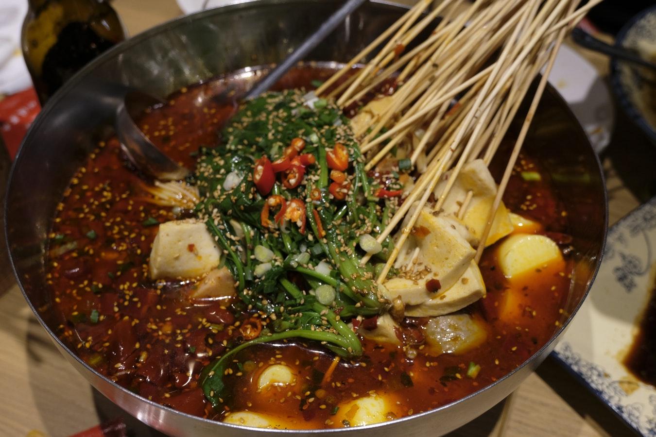 comida y dieta japonesa