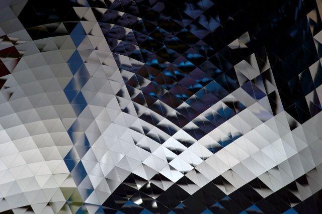Anish Kapoor. Galería La Caja Negra. Fotografía de Joaquín Rivero