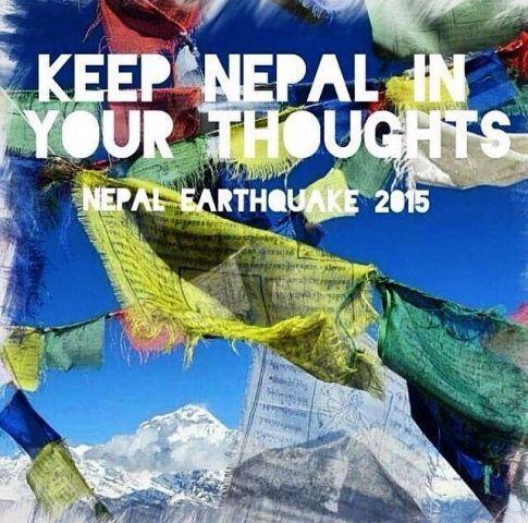 Lleva a Nepal en tus pensamientos. Nepal. Terremoto 2015