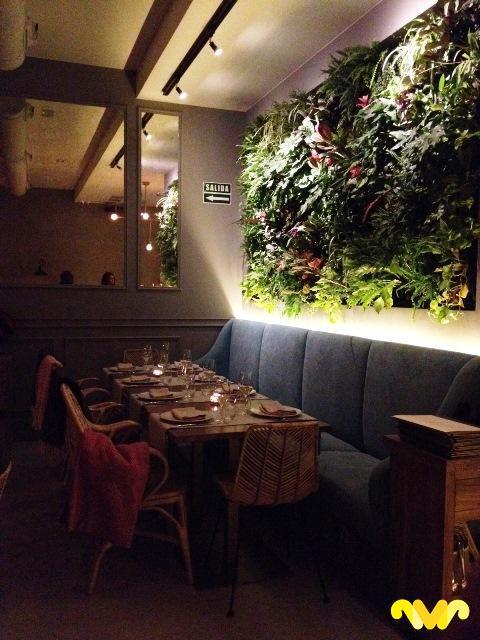 Restaurante Ornella. Madrid