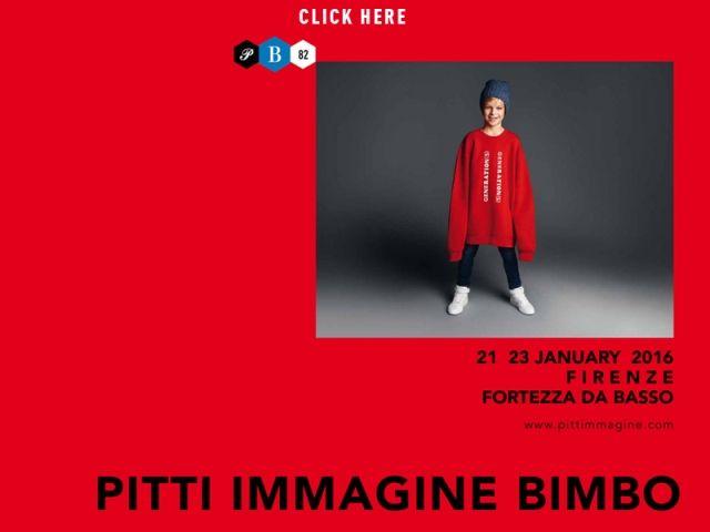 Pitti Bimbo. Feria Internacional de Moda Infantil. Florencia.