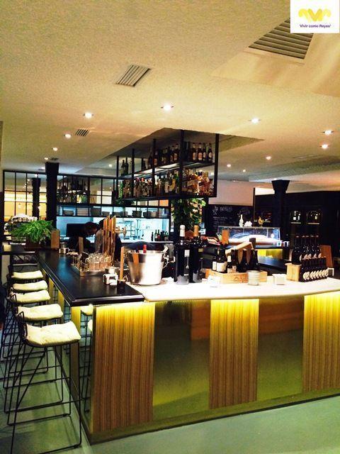 El restaurante Rooster ha sido diseñado con mucho mimo por Cousi Interiorismo