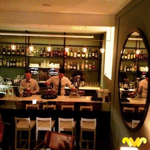 Restaurante Marconi Velázquez. Madrid