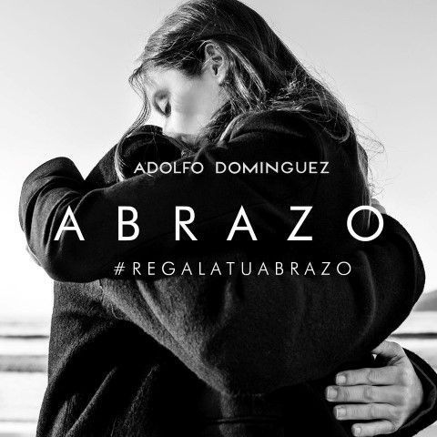 Regala Tu Abrazo. Reto Solidario. Adolfo Dominguez