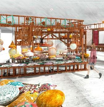 ARCO. Sala Vip 2016. Izaskun Chinchilla Architects
