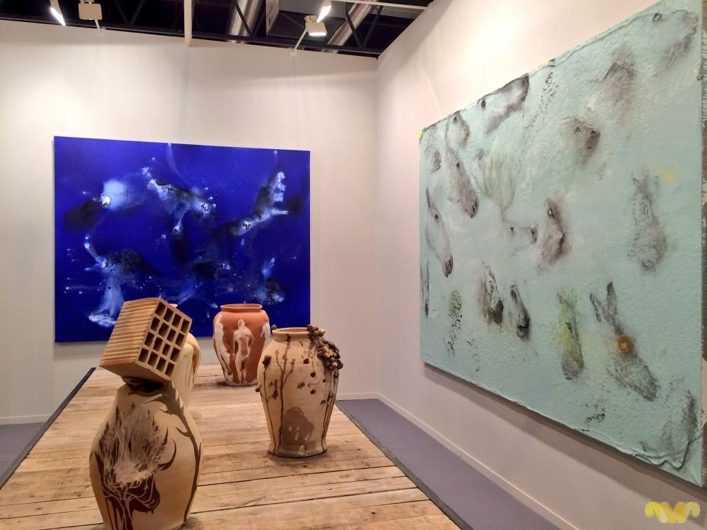 Miquel Barceló. Perfils parietals, 2013. Galería Elvira González