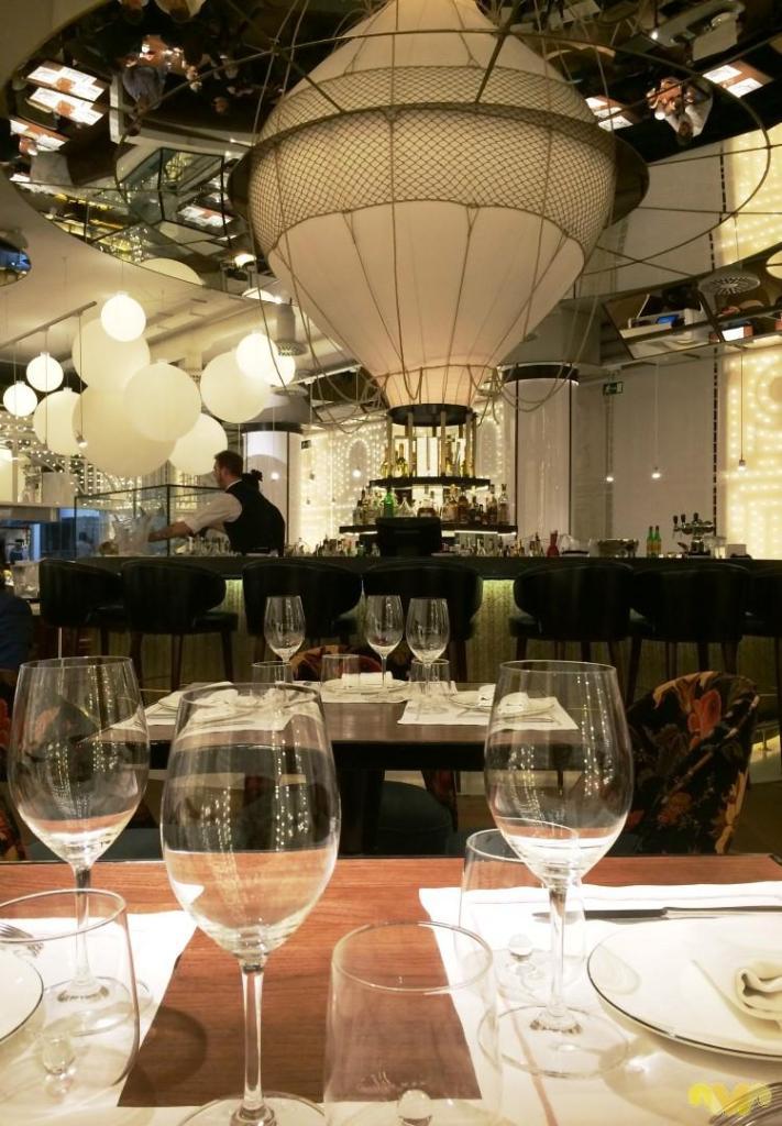Restaurante BiBo Madrid chef Dani Garcia