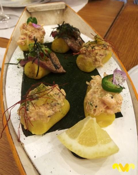 BiBo Marbella del chef Dani Garcia. Causa Peruana