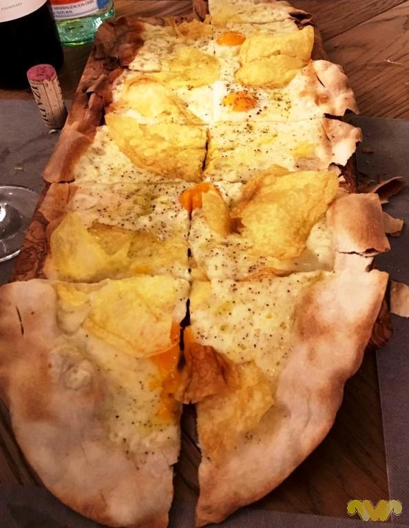 Pizza Fina Catalina. Restaurante italiano. Madrid