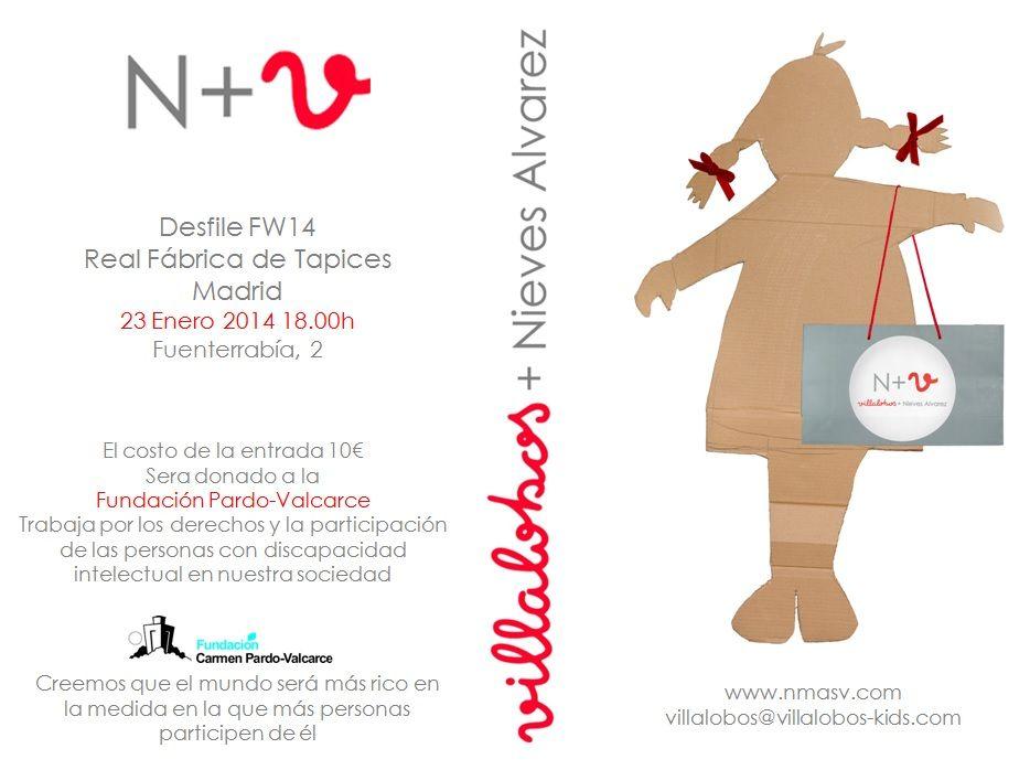 N+V Villalobos + Nieves Álvarez presenta su primer desfile en Madrid