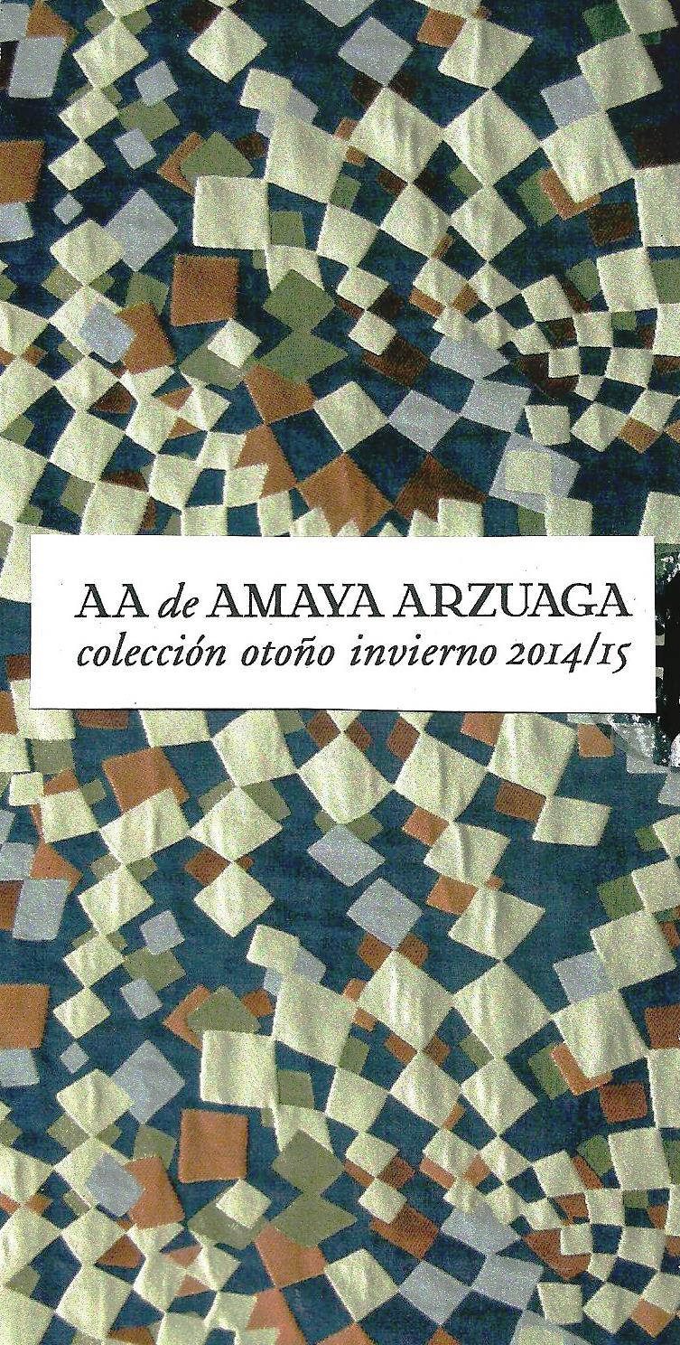 Colección otoño invierno 2014/15