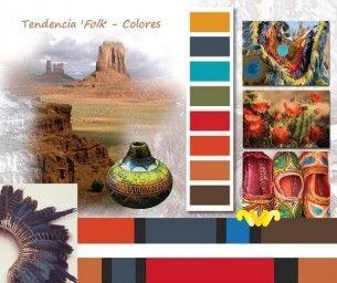 Eliel Boutique. Colores de la Tendencia Folk.