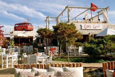 Chezz Gerdi. Cocina creativa italiana, loungebar y preciosas puestas de sol. Formentera.