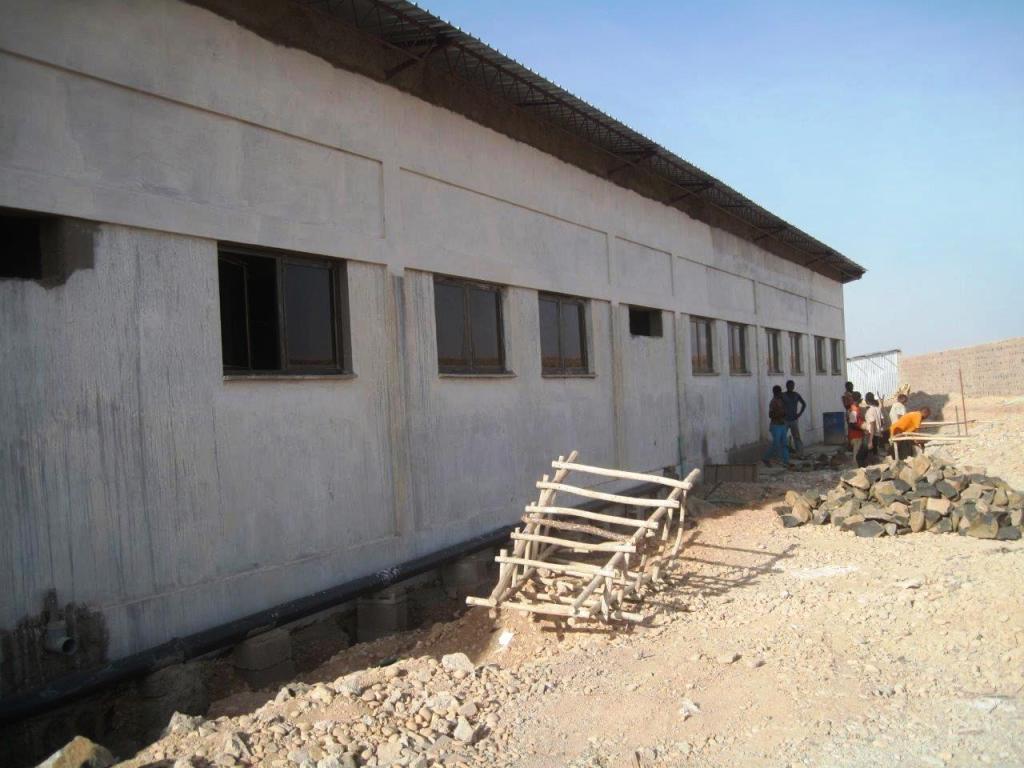 Misión Misericordia. Progreso de la obra, octubre 2014.
