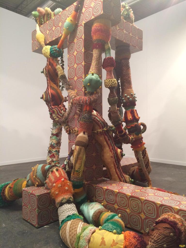 Arco 2018. Escultura de Joana Vasconcelos. Galeria Horrach Moya