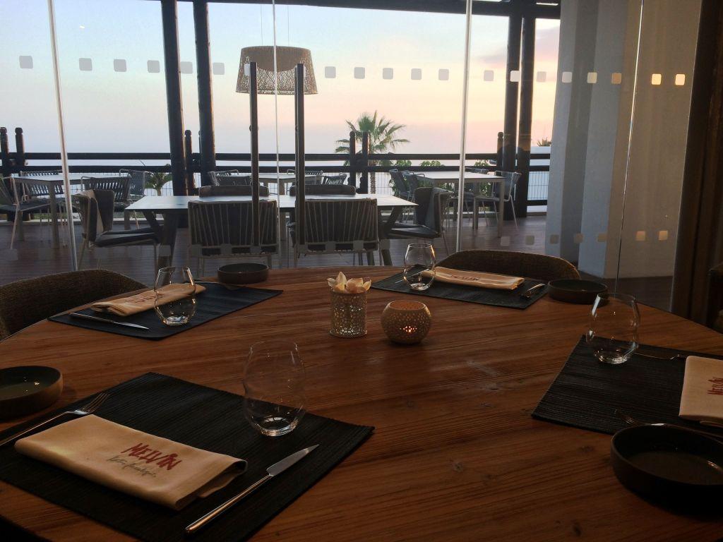 Restaurante Melvin By Martín Berasategui. Hotel Ritz-Carlton Abama. Tenerife