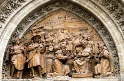 Catedral de Sevilla. Adoración de los Reyes