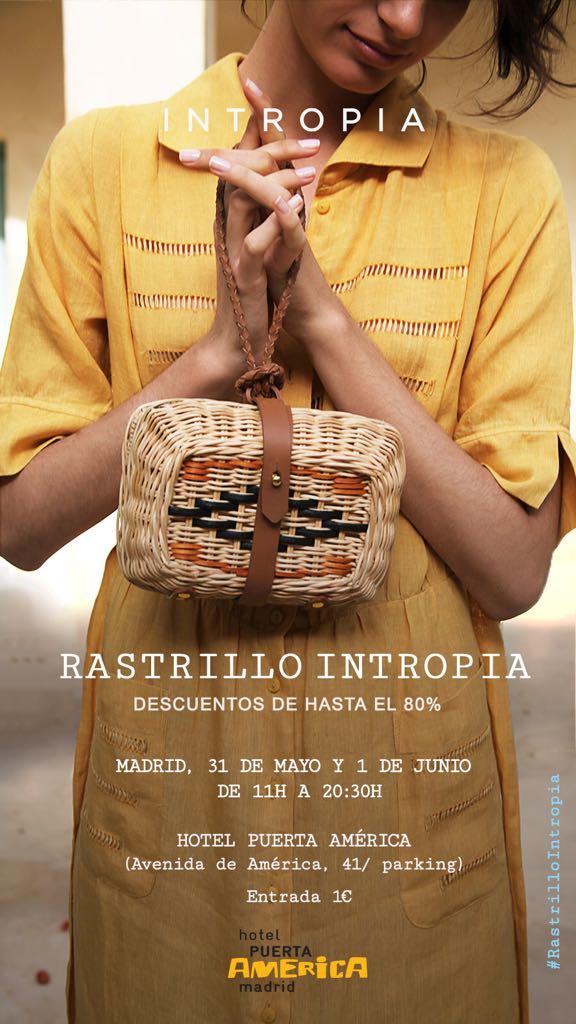 Rastrillo Intropia Madrid. Mayo 2018