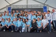 Les bénévoles du 78e Bol d'Or Mirabaud salués par Rodolphe Gautier et l'ensemble du comité d'organisation de la régate. Photo: Oreste Di Cristino