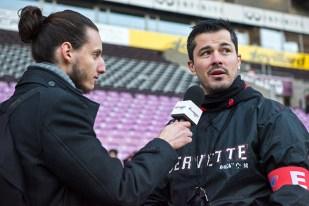Guillaume Boussès en interview avec leMultimedia.info en fin de rencontre. © Oreste Di Cristino