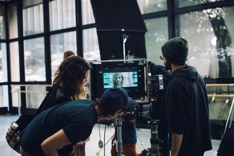 Un tournage aux moyens techniques et aux ressources humaines importants. Un court métrage travaillé pour un scenario intelligent. © Anne Gerzat