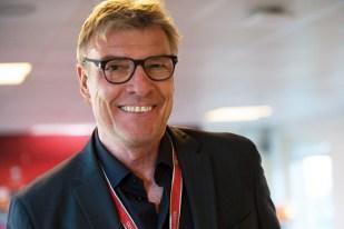 Lars Olsen, le sélectionneur national féringien, a fait confiance à une défense qui avait fait ses preuves à Andorre. © Oreste Di Cristino / leMultimedia.info