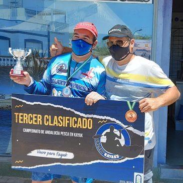 «Seguimos en la selección andaluza» Crónica del VIII Campeonato de Andalucía de pesca en kayak