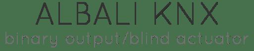 Albali-KNX-Header