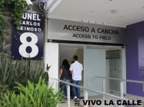 El chileno Carlos Reinoso, ídolo del club