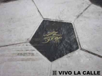 Firma de Diego Armando Maradona