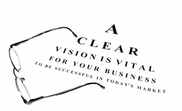 a clear vision for your business
