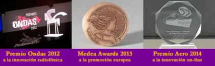 Premios Ondas 2012, Medea Awards, Aero 2014