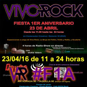 Fiesta de IAniversario de Vivo Rock