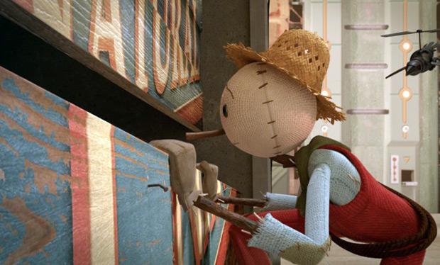 """A busca por comida saudável e sustentável: """"The Scarecrow"""" / Imagens: moonbotstudios.com"""