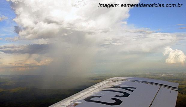 Chuva artificial - Imagem: Esmeralda Notícias