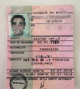 Carte De Séjour Pour Un étranger Au Maroc Le Guide