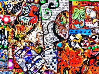 oeuvre de jonathan choin de l'art et handicap