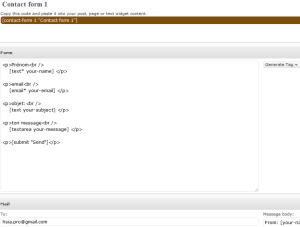 contact form plugin wordpress