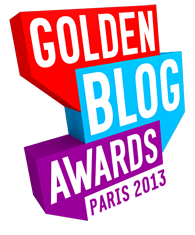golden blog awards logo