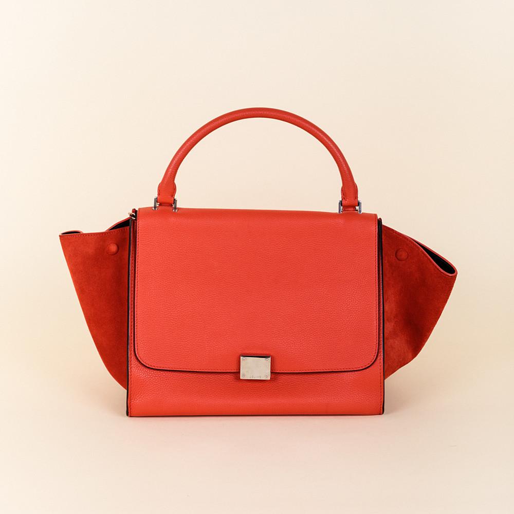 Celine Medium Trapeze Bag   Vivrelle