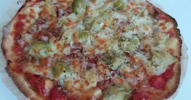 Votre pizza sans gluten (recette de Gaëlle Dodeur)