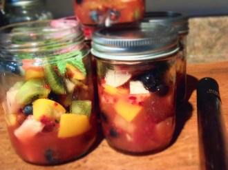 coupes de fruits