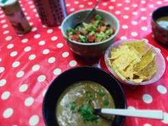 soupe haricots noirs et salss